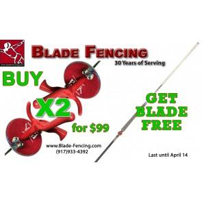 3 PCS Special:Buy 2 Foils get Blade Free